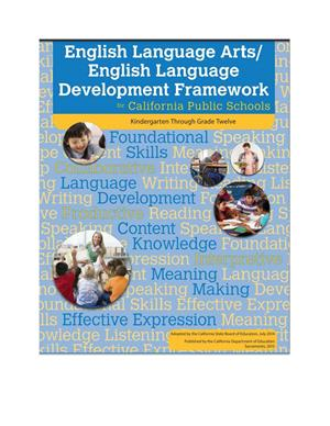 English Language Arts ELD Framework cover