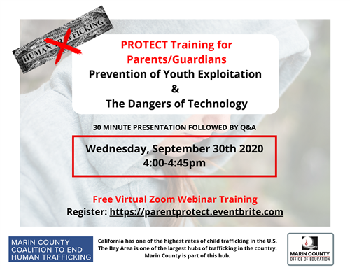 Image of PROTECT flyer