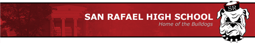 San Rafael City High School District Logo
