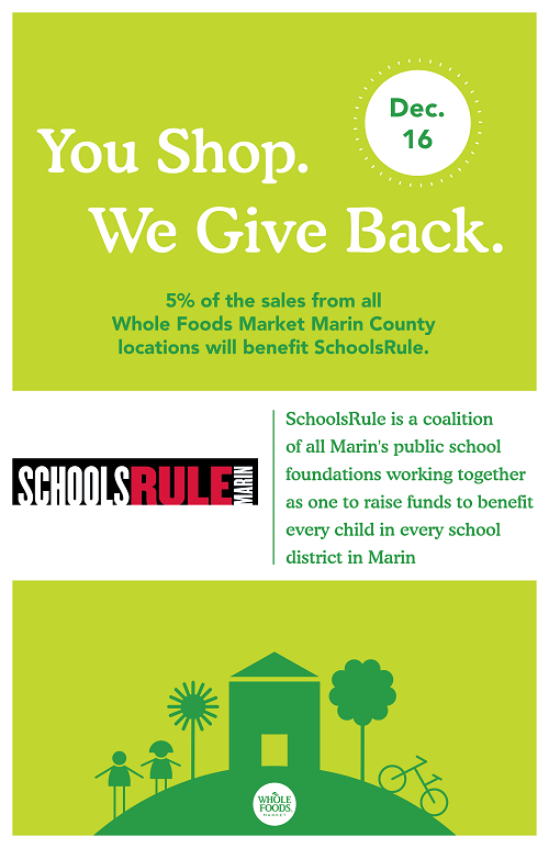 An image of the SchoolsRule Fundraiser flyer