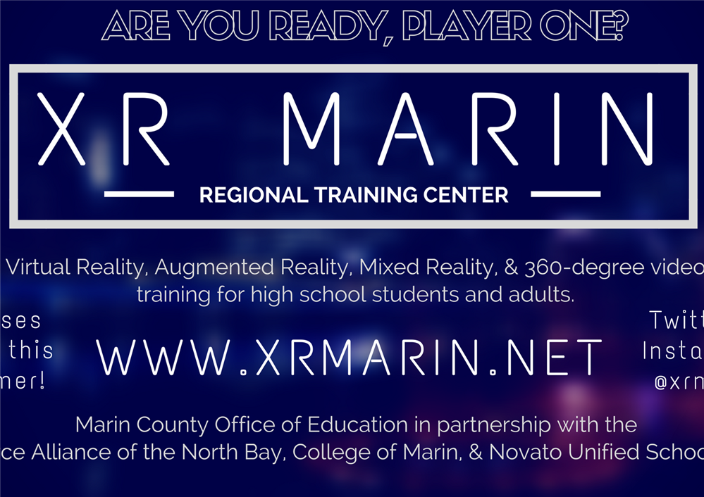 Image of the XR Marin Regional Training Center flyer