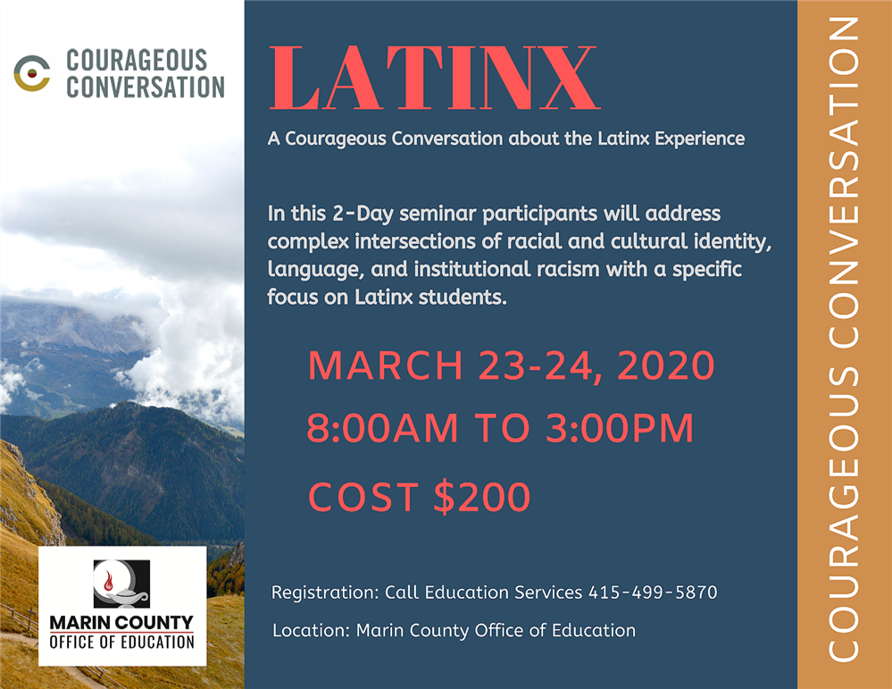 Image of the LatinX Experience workshop flyer