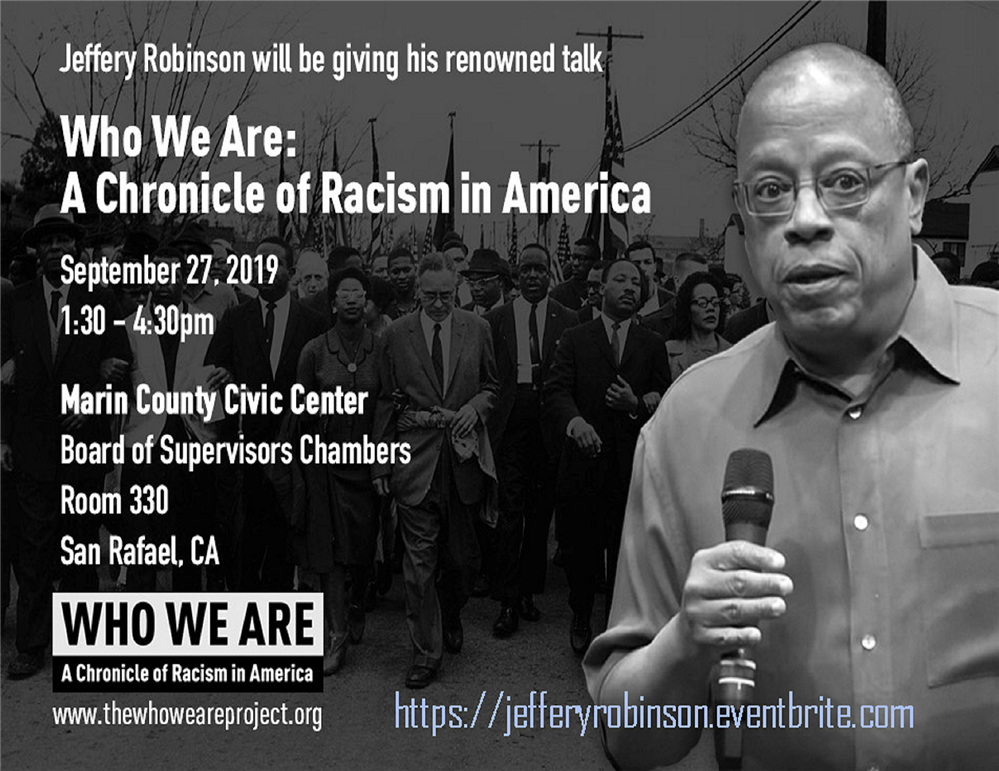 An image of the Chronicle of Racism in America workshop flyer