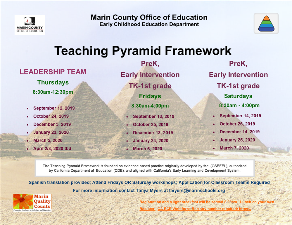 Teaching Pyramid Framework