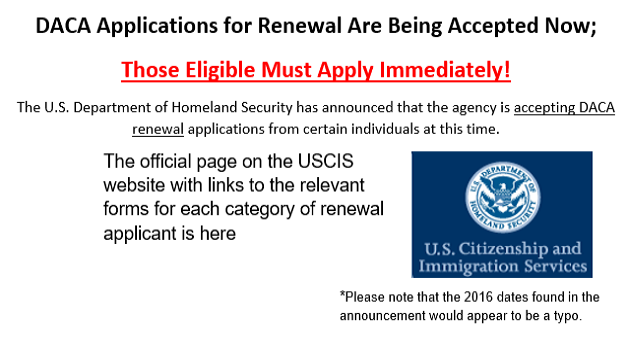 DACA Application Image